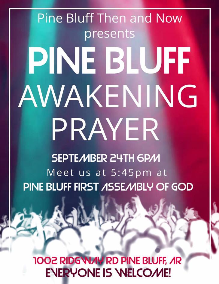 Pine Bluff Awakening Prayer 2017