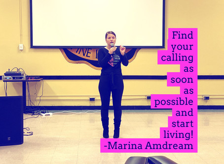 Find your calling and start living