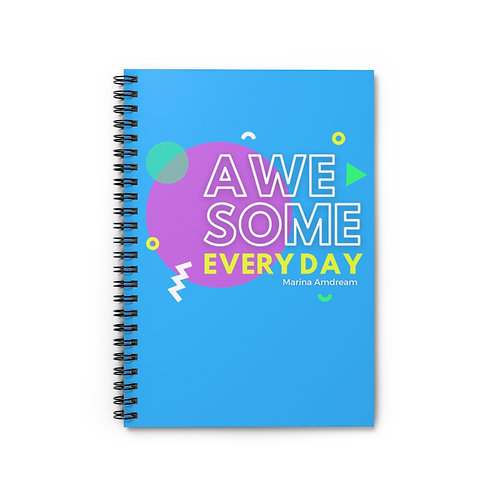 Awesome Everyday Spiral Notebook - Ruled Line