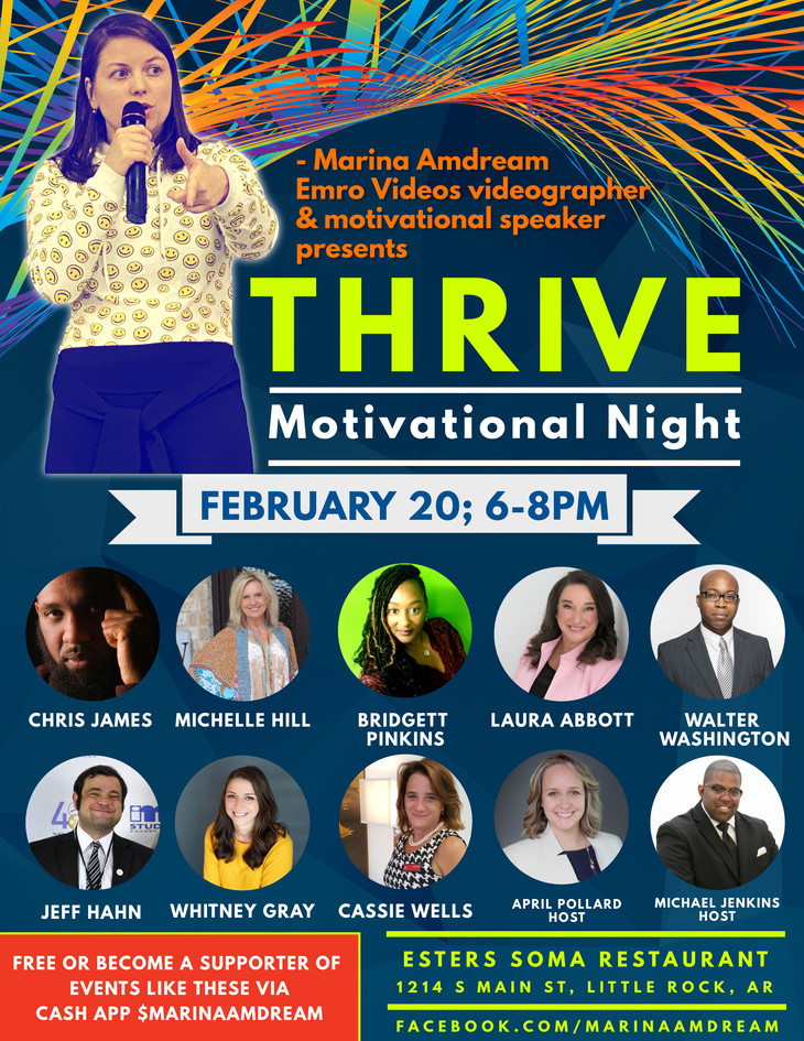 Thrive Motivational Night