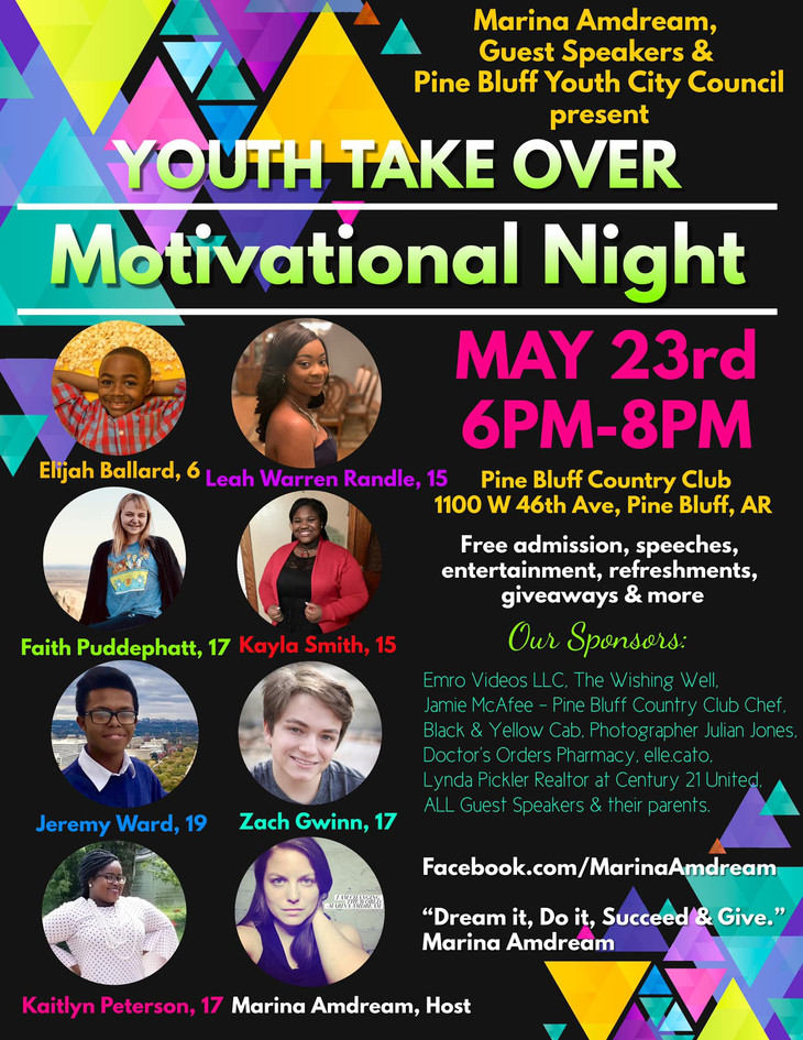 Youth Take Over Motivational Night