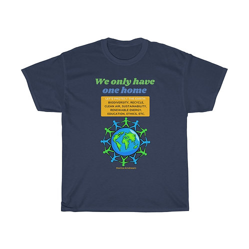 Protect The Earth Heavy Cotton Tee