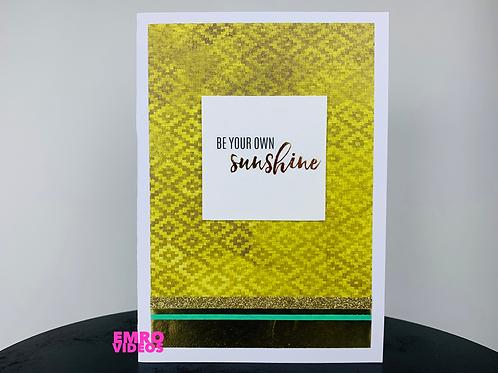 Sunshine Card