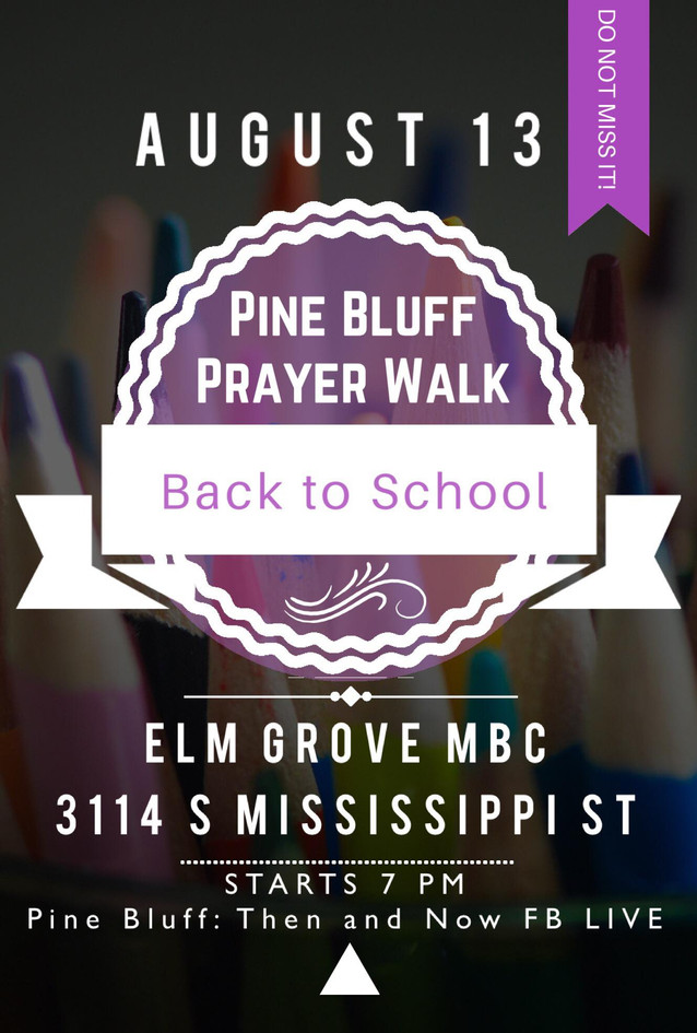 Back To School Prayer Walk 2017