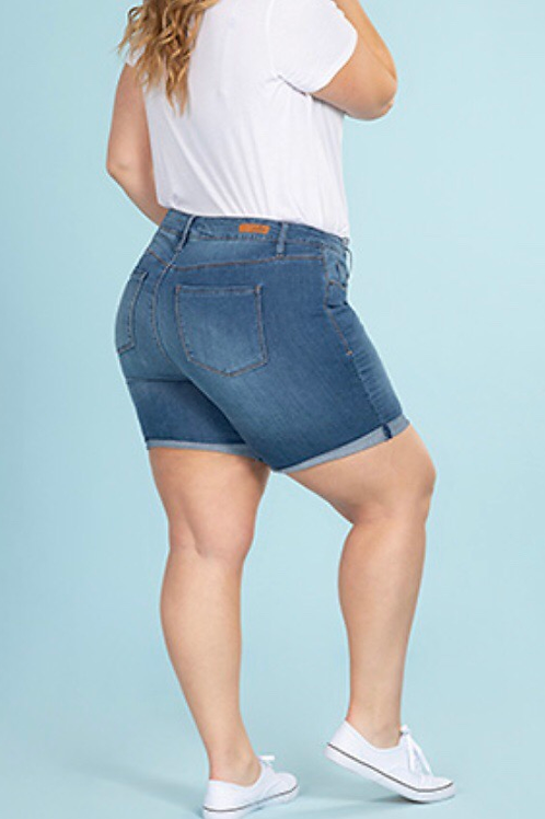 Hide Your Muffin Top - Plus Size Shorts