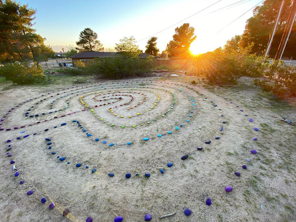 labyrinth with sunset.jpg