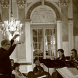 ​At Brussels Parliament in concert with the Royal Conservatory of Brussels Chamber Choir, dir. Charles Michiels