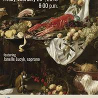 Bon Appetit, Buon Appetito, in concert with Per Sonatori, Regina's Baroque Period-Instrument Ensemble, Regina, SK