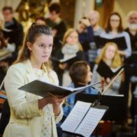 Gloria Patri - Laudate Pueri Dominum - Handel  Janelle Lucyk, soprano The King's Chorus, dir. Nick Halley Ensemble Regale