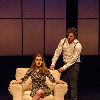 playing Susanna in the Marriage of Figaro, Durham Opera Ensemble, UK