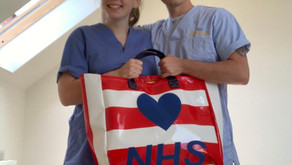 Our Thank You bags to NHS and Key Workers