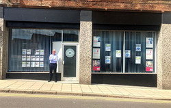 Our office front on English Street, Dumfries.