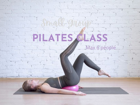 Small groups Pilates classes via Zoom