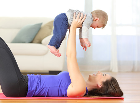 How to get back into fitness after childbirth