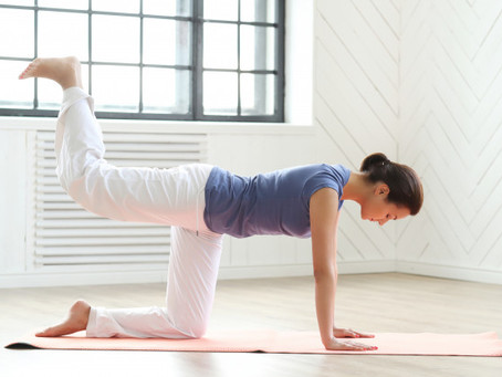 How to tone your glutes with Pilates