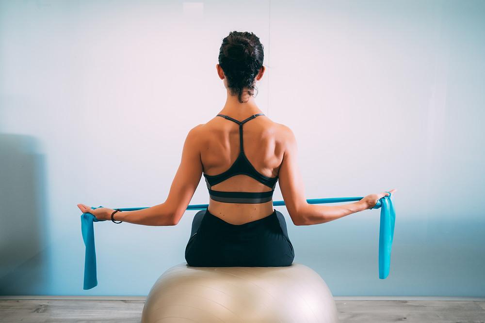 Pilates posture back pain