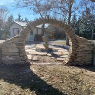 Stone Moon Gate