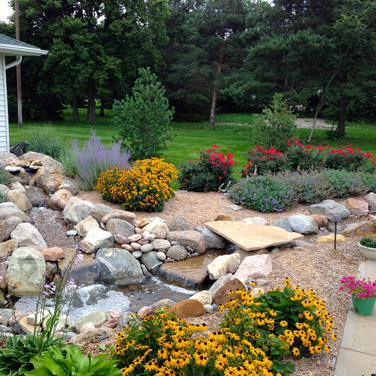 Established Landscape and Water feature