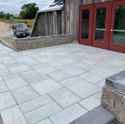 Paver Entrance and Ramp