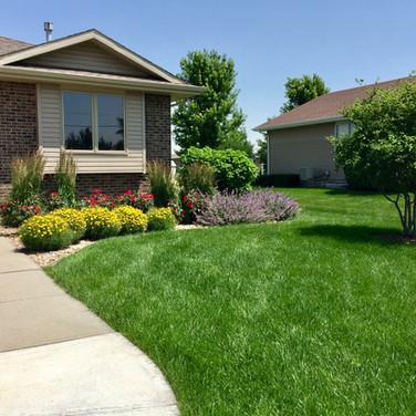 Front Yard Accent Landscape