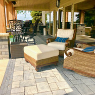 Paver patio and Seating Area