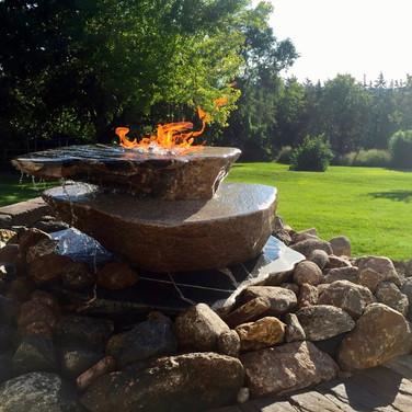 Bubbling Fire Rock