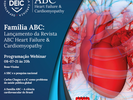 Simpósio internacional lança revista ABC Heart Failure & Cardiomyopathy