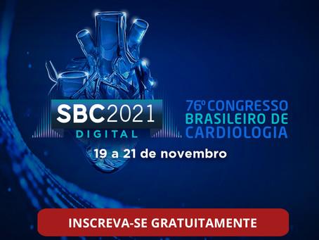 Família da cardiologia se prepara para o 76º Congresso da SBC