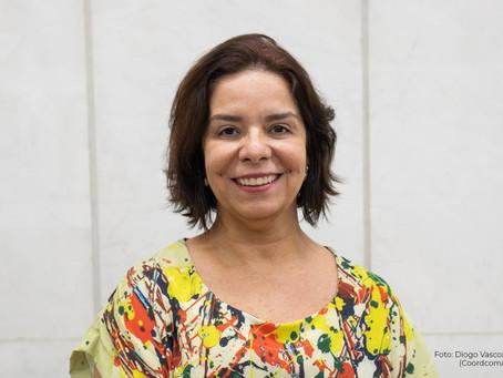 Denise Pires de Carvalho, reitora da UFRJ, participa da inauguração do Espaço Carlos Chagas