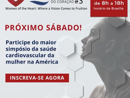 Evento internacional da Sociedade Brasileira de Cardiologia abordará saúde da mulher