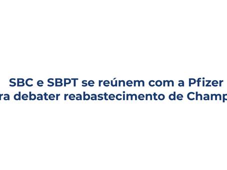 SBC e SBPT se reúnem com a Pfizer para debater reabastecimento de Champix®️