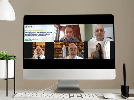 SBC e Conasems promovem debate sobre telemedicina