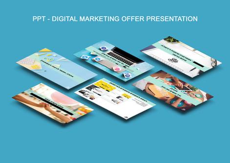 Digital marketing offer PPT