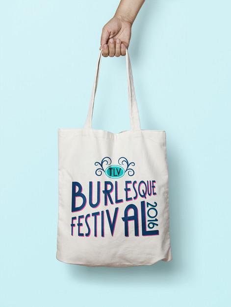 Burlesque Festival bag