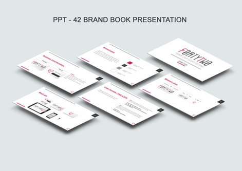 FortyTwo (42) Brand book PPT