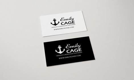 Bussiness card - Emily Cage