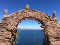Overlooking the water (Puno, Bolivia)