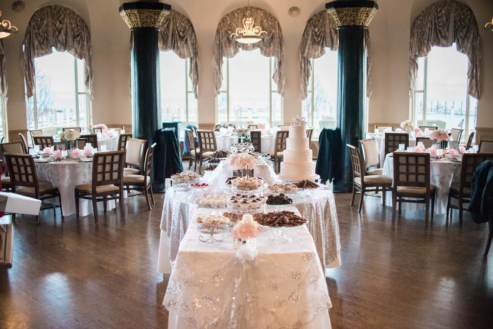 Danielle James Grosse Pointe Yacht Club Bridal Shower Detroit Wedding Photographer