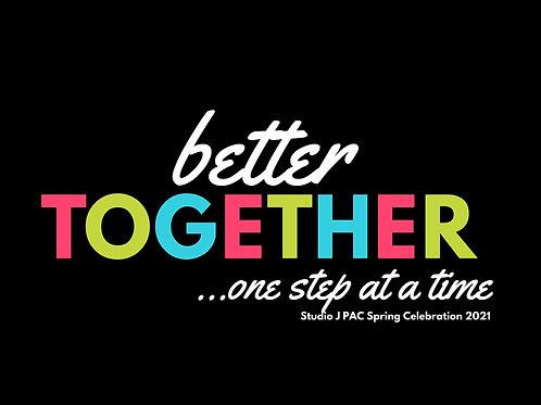 Better Together- Spring Recital DVD