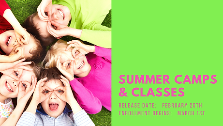 Summer Camps & Classes Coming Soon (2).p