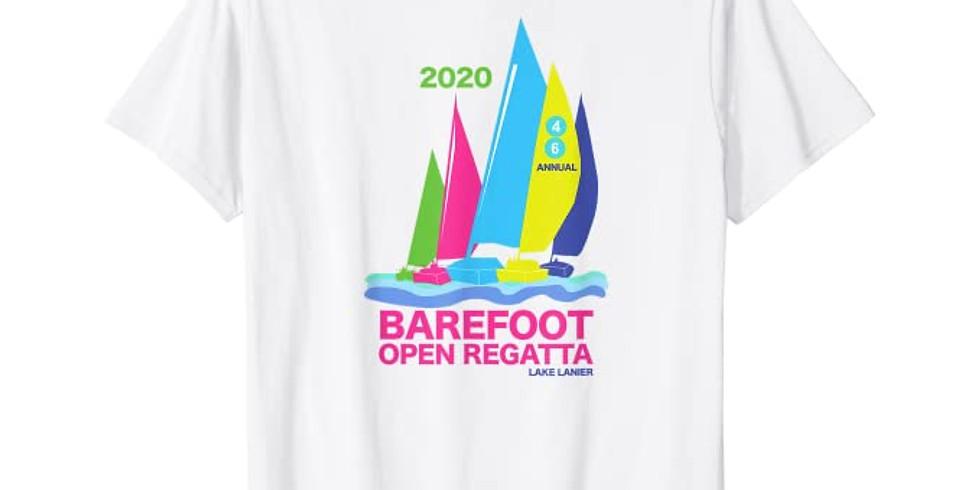 2020 Barefoot Open Regatta T-shirts