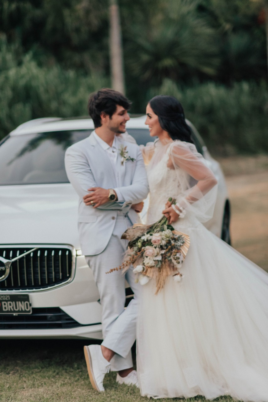 Jade Seba e Bruno Guedes