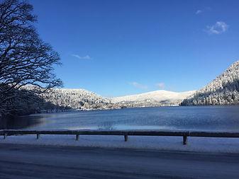 Lac de Longemer en Hiver