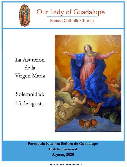 OLGC- 2020 - Bulletin - Spanish, August.