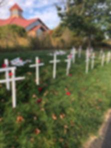 Vandalism Respect Life Crosses 1 - Oct 2