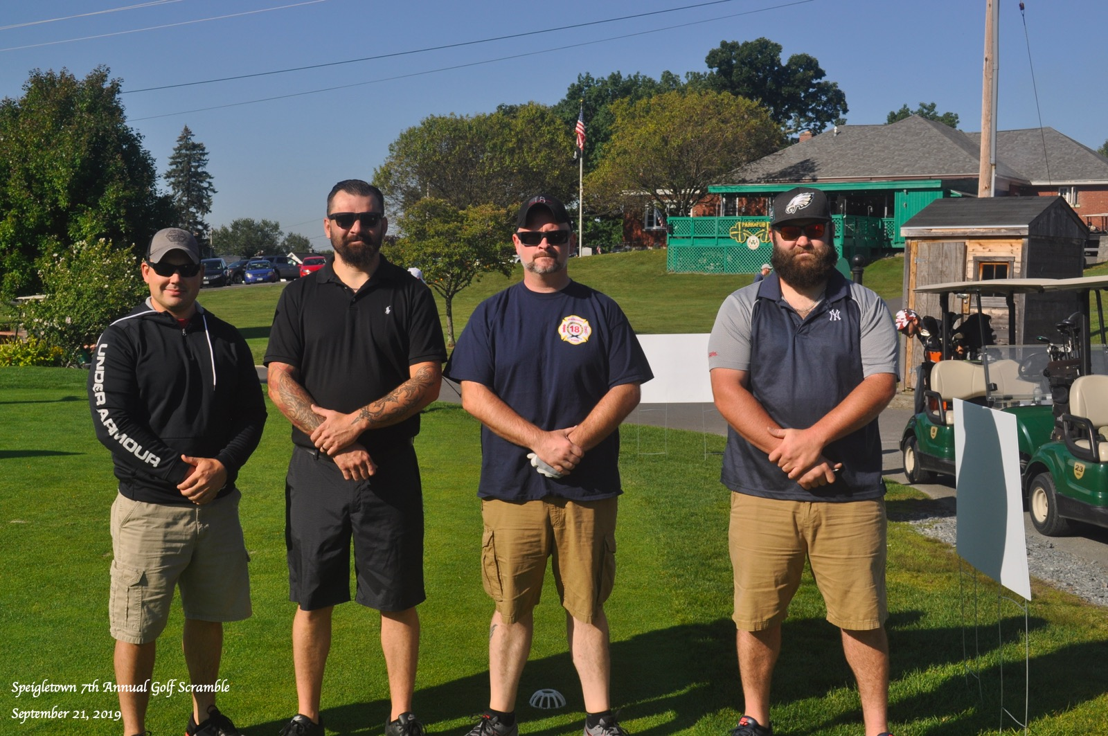 Speigletown Golf Scramble 2019 Teams1