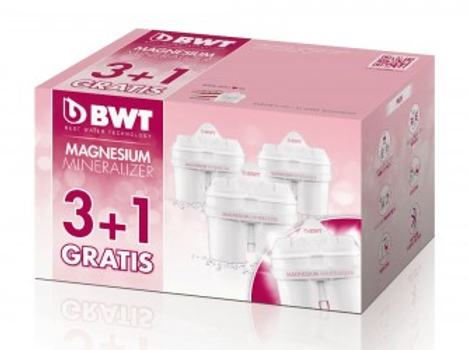 BWT Magnesium Mineralizer Kartuschen Technology Long Life, 3+1