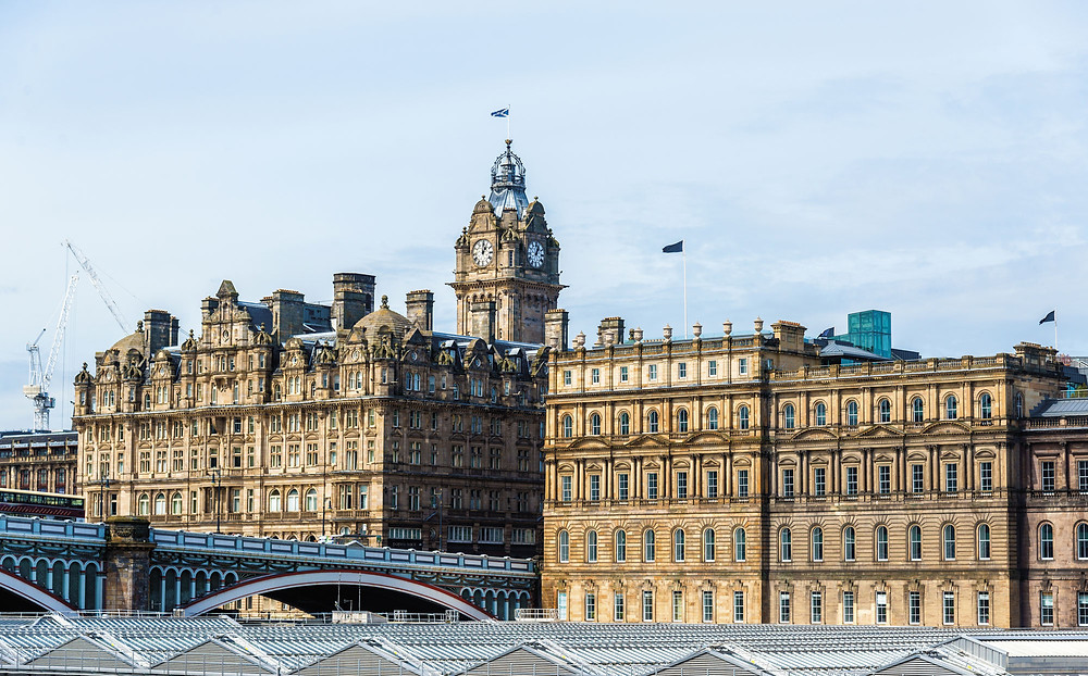 Conor helped refurbish the  Balmoral Hotel in Edinburgh