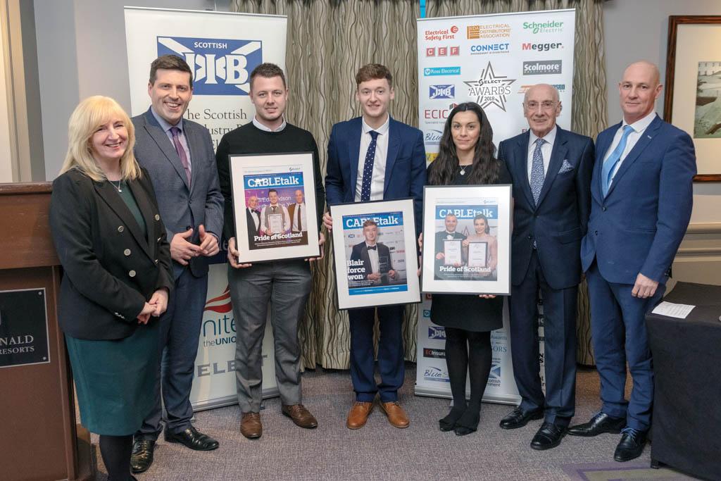 SELECT awards recipients
