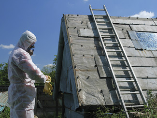 Be on your guard against asbestos danger